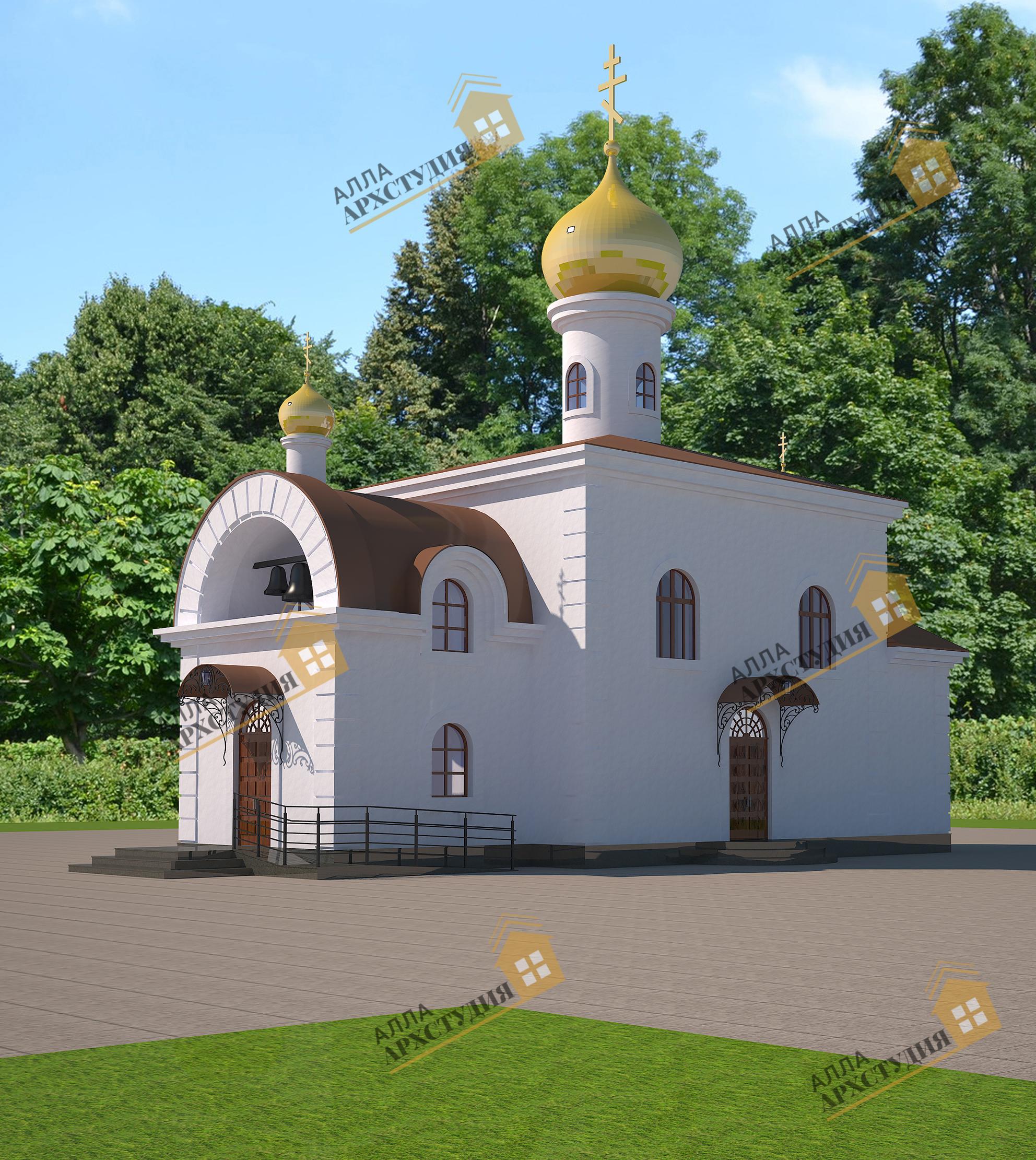 Храм на 100 прихожан